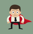 super businessman vector image vector image
