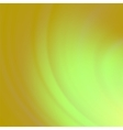 Abstract Green Orange Wave Background vector image vector image