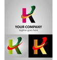 Abstract Letter K logo symbol