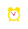 alarm clock icon time management and awakening vector image