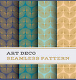 art deco seamless pattern 54 vector image vector image