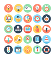 Business and SEO Icons 6 vector image