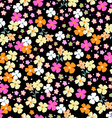 cutie seamless floral vector image vector image