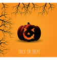 Halloween background design vector image vector image