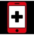 Mobile Medicine Icon vector image