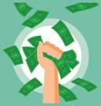 Money Fist vector image