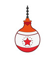 ornamental ball icon image vector image vector image