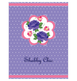 Shabby Chic style card vector image