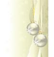 shiny christmas background vector image