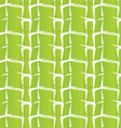 Textured ornament with light green stripes vector image