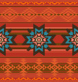 traditional textile pattern in ethnic style vector image vector image