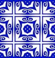 vintage ornamental pattern vector image