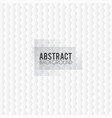 abstract background with white paper cut shapes vector image vector image
