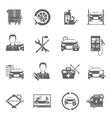 Auto Mechanic Icons Set vector image vector image
