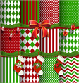 Big collection of Christmas backgrounds vector image vector image