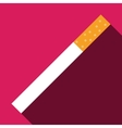 cigarette icon symbol vector image