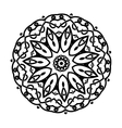 circular ornament Mandala design vector image vector image