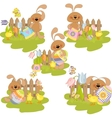 Cute easter vector image vector image