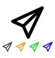 freelance stroke icon vector image