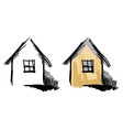 House sketches vector image vector image