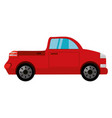 pick up vehicle vector image vector image