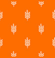 rye spica pattern seamless vector image vector image