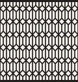 seamless geometric pattern simple mono line vector image