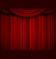creative of stage with luxury vector image
