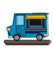 food truck icon image vector image vector image