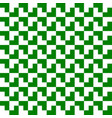 green and white geometric pattern background vector image