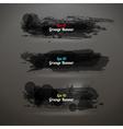 Grunge Transparency Banner vector image