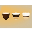 hotcoffee vector image