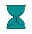 hourglass or sandglass icon image vector image vector image