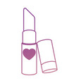 makeup lipstick isolated icon vector image