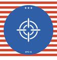 aim icon vector image