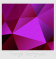 an abstract violet vector image vector image