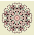 Beautiful arabesque lace pattern background vector image vector image