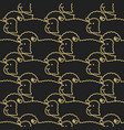 black sheep pattern ewe ornament flock of sheeps vector image