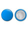 creative of 3d pin button vector image vector image