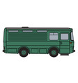 old green horse conveyor vector image