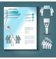 booklet Layout vector image