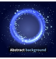 Abstract background sky with light particles vector image vector image
