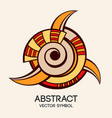 abstract geometric symbol vector image