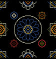 background ornament embroidery vector image vector image