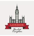 Big Ben in London vector image vector image