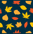 cute autumn seamless pattern vector image vector image