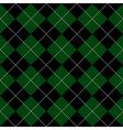 Green Black Diamond Background vector image