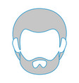 man face icon vector image vector image