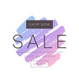 sale template design vector image vector image