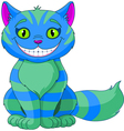 Smiling Cheshire Cat vector image vector image